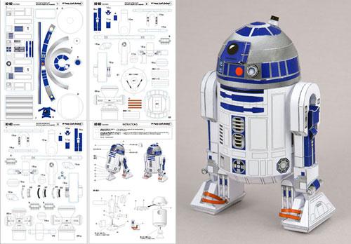 Figuras para armar de papel star wars - Imagui